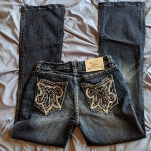 MEK DNM Jeans Size 26 with 29.5 inch inseam